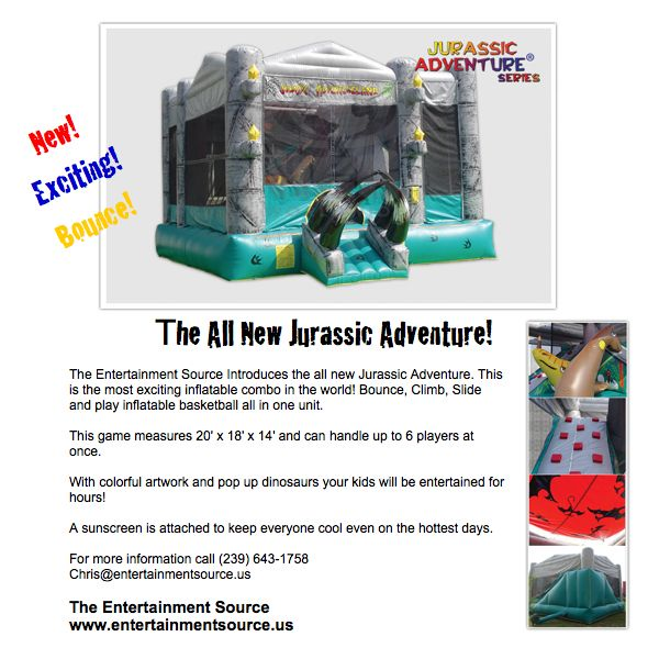 Inflatable Water Slides Naples Fl: Inflatables, Games, Disc Jockey By The Entertainment